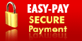 Easy-Pay secured payment, quick and safe